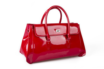 Elegant red purse