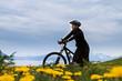 Mountain bike cyclist, Norway