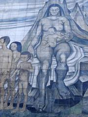 tribute to Gabriela Mistral, Santiago de Chile
