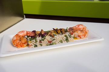 Shrimps appetizer