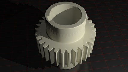 Gear - Toothed pinion