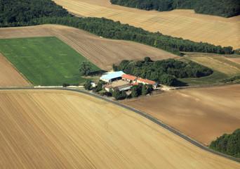 isolated farm