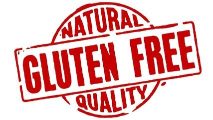 Rubber Stamp Gluten Free
