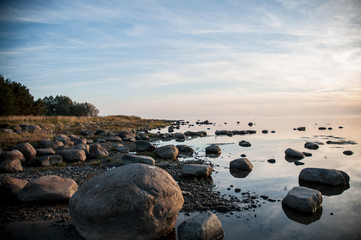 Seashore of Baltic sea