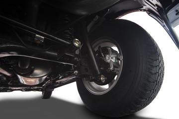 Truck wheel details