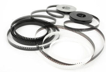 old 8mm cine film and reels