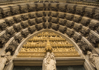 Koln Cathedral entrance