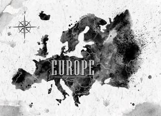 Ink Europe map