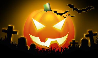 Notte di Halloween zucca