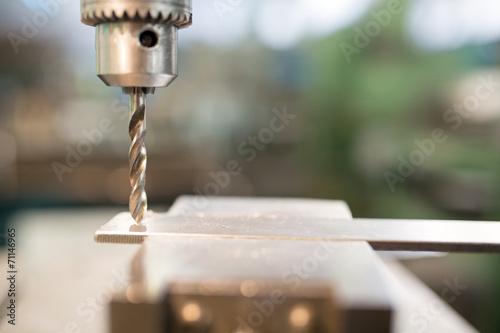 Poster Machinery metal cutting process hole boring