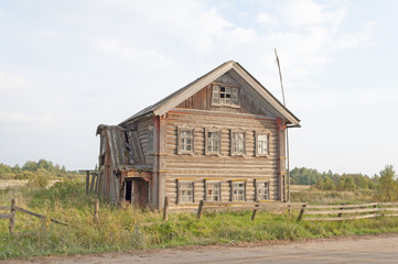 Big old wooden house