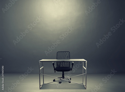 empty working place - 71147590