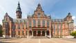 Leinwanddruck Bild - Historic university building