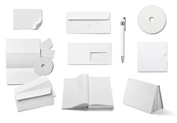 white templates