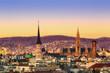 Вид на Вену с высоты