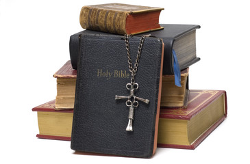 Religious Books & Cross