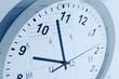 Leinwandbild Motiv Clock and calendar