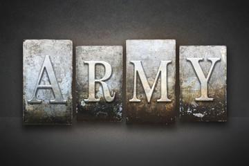 Army Letterpress Theme