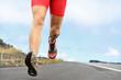 Running sport runner shoes and legs