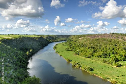 Foto op Canvas Centraal-Amerika Landen Chavon River, Dominican Republic
