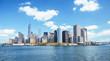 Obrazy na płótnie, fototapety, zdjęcia, fotoobrazy drukowane : New York skyline downtown manhattan