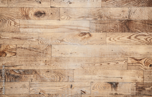canvas print picture Wooden background texture