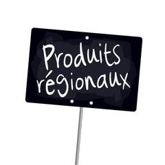 """Ardoise """"Produits régionaux"""""""