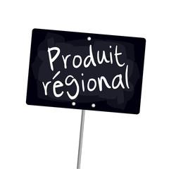 "Ardoise ""Produit régional"""