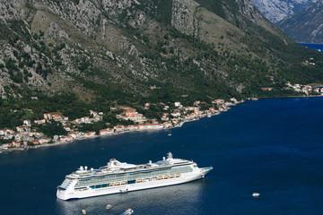 "ship ""Serenade of the Seas"" Montenegro. September 23, 2014"