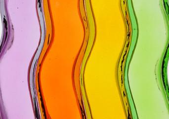 カラフルなガラス