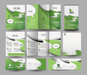 Corporate Business Stationery Set Template