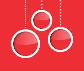New Year baubles