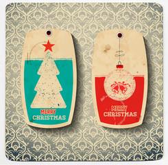 Vector. Christmas cards set