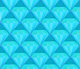 diamond seamless pattern background