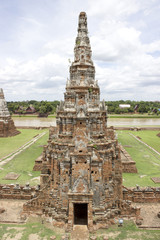 Pagoda  of Chaiwatthan temple in Ayutthay Province