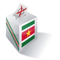 Wahlbox Suriname