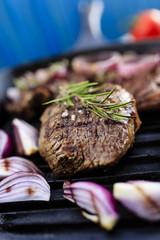 Steak, Grilled beef steak
