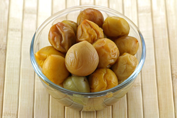 Pickled peach (Chinese plum, Japanese apricot)