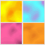 Pop-art style dotted backgrounds collection - 71160763
