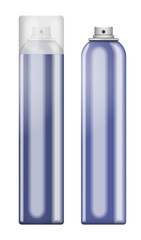 Blue blank aluminum spray