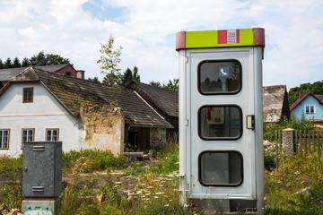 Telefonzelle in Österreich
