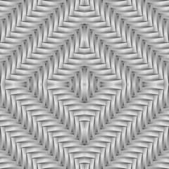 Design seamless monochrome diamond interlaced pattern