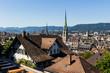 canvas print picture - Schweiz, Zürich,