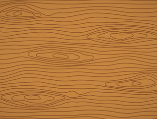 Brown wooden plank, cutting board, floor or table surface.