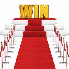 red carpet win