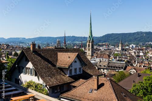 canvas print picture Schweiz, Zürich,