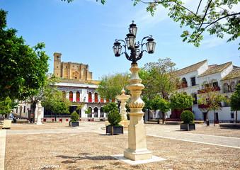 Plaza Mayor de Osuna, Sevilla, Andalucía, España