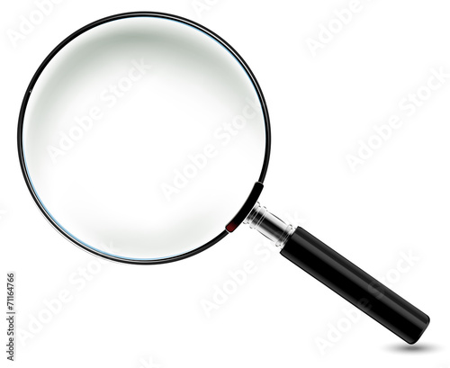 Magnifying Glass for you design poster