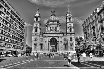 St Stephans basilica in Budapest, Hungary