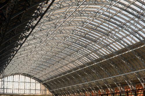 Kings Cross Railway Station roof - 71165729